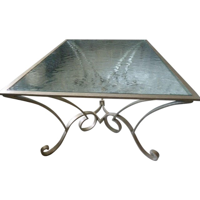 Century Furniture Glass Top Coffee Table - Image 1 of 5