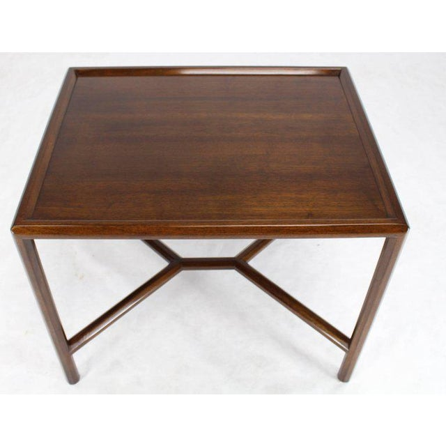 Mid 20th Century Dunbar Walnut Side Table For Sale - Image 5 of 7
