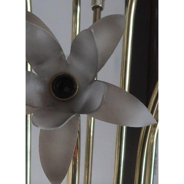 Vintage Mid-Century Modern Lotus Floor Lamp For Sale - Image 9 of 10