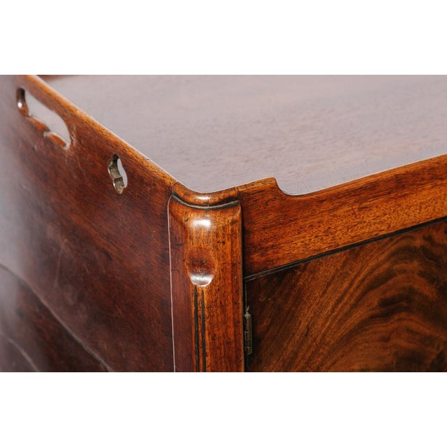 Late 18th Century Antique English Night Stand For Sale - Image 5 of 9