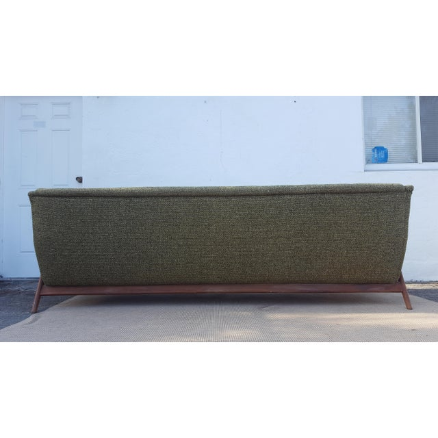 """Green Mid-Century Modern """" Dux """" of Sweden Sofa For Sale - Image 8 of 12"""