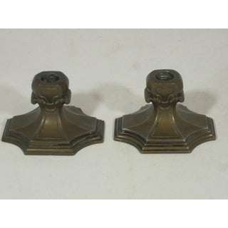 1940s Art Deco Candle Holders - a Pair Preview