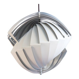 Danish Konkylie Sculptural Pendant Light by Louis Weisdorf For Sale