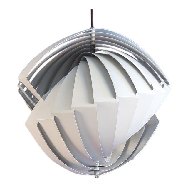 Danish Konkylie Sculptural Pendant Light by Louis Weisdorf For Sale