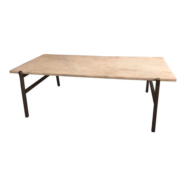 Cb2 Coffee Table.Modern Cb2 Slab Small Marble Coffee Table