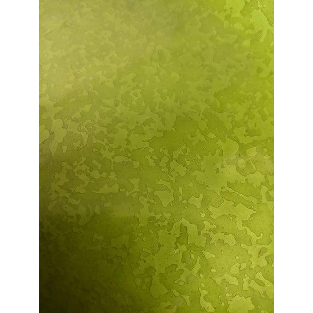 Enameled Evans Green Ashtray - Image 7 of 7