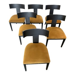 Modern Klismos Dining Chairs - Set of 4 (6 Pictured) For Sale
