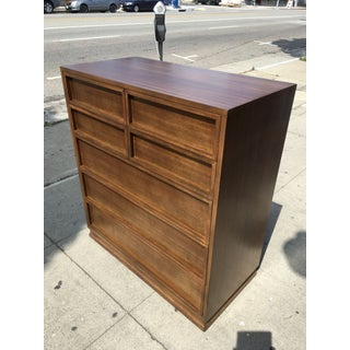 1950s Mid Century Modern Triangle Brand Mahogany Highboy Preview