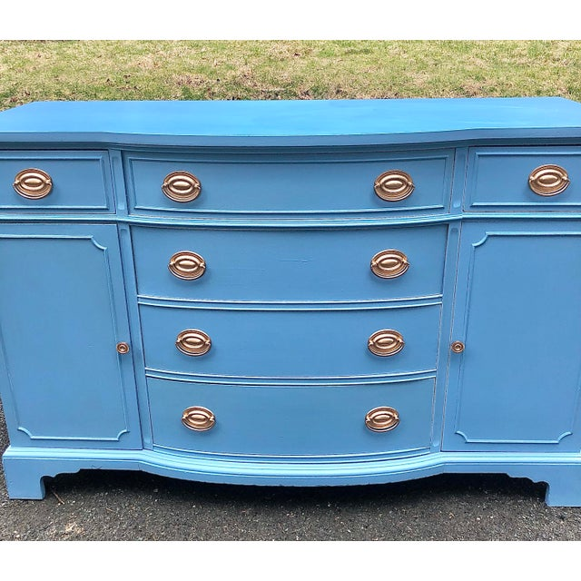 Traditional 1950's Drexel New Travis Court Server For Sale - Image 3 of 10