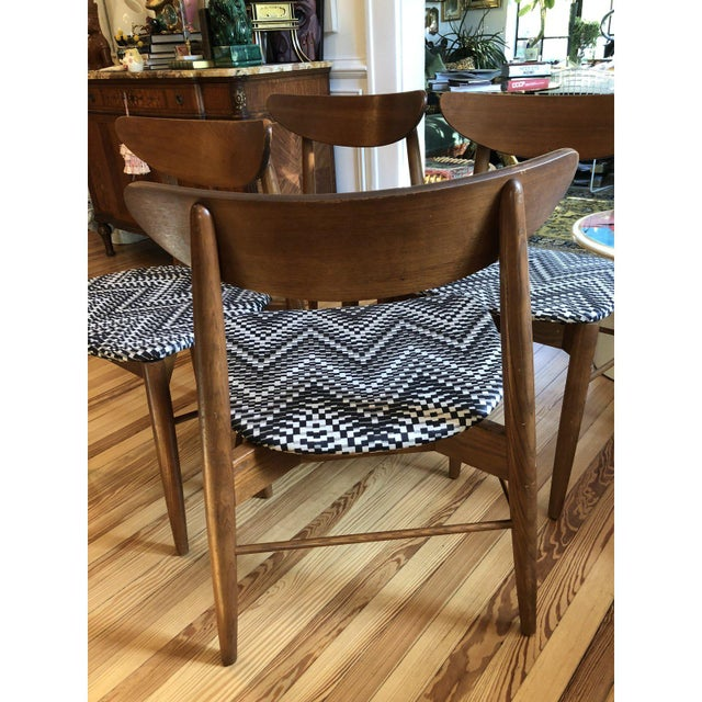 Harry Ostergaard 1960's Danish Modern Harry Ostergaard Dining Chairs - Set of 4 For Sale - Image 4 of 10