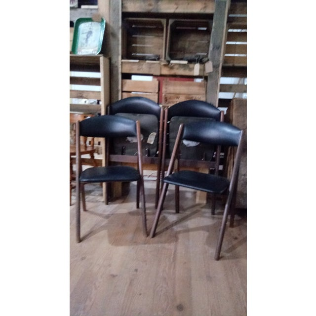 1960s 1960s Mid-Century Modern Stakmore Folding Chairs - Set of 4 For Sale - Image 5 of 6