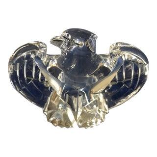 Vintage Lloyd Atkins for Steuben Crystal Eagle Figurine For Sale