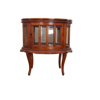 Louise Colonial Style Teak Tea Table For Sale
