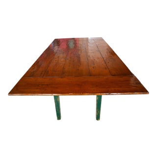 Rustic Wood Dining Table For Sale