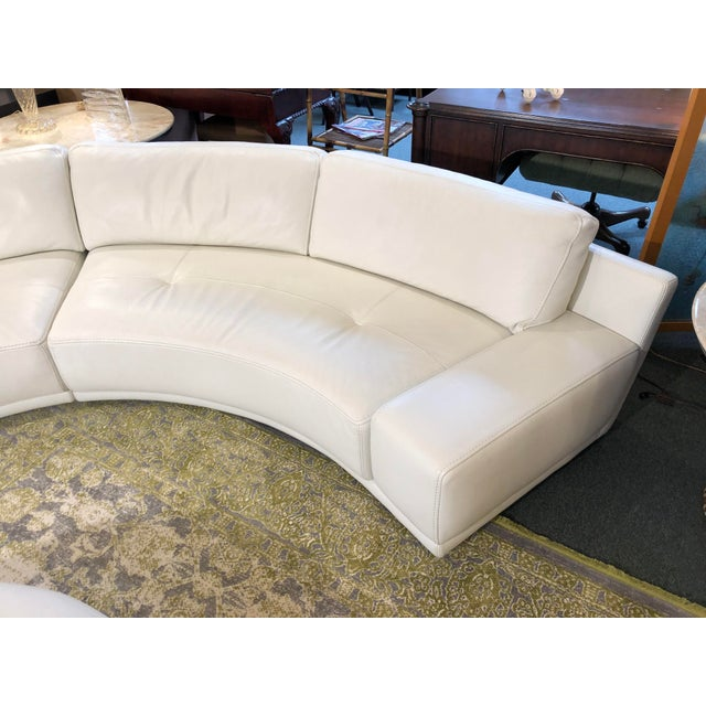 Design Plus Gallery presents the Solstice Sectional from Roche Bobois. The two elegant curving sofas and ottoman, designed...