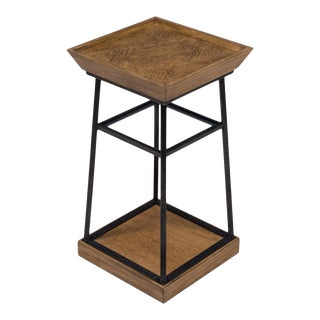 Hunt Country Drink Table, Heather Grey For Sale