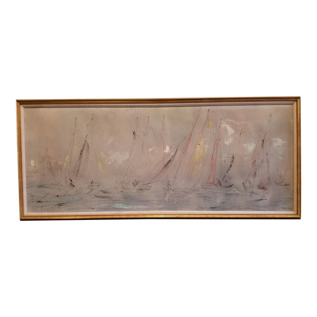 Pascal Cucaro Large-Scale Abstract Expressionist Oil Painting For Sale