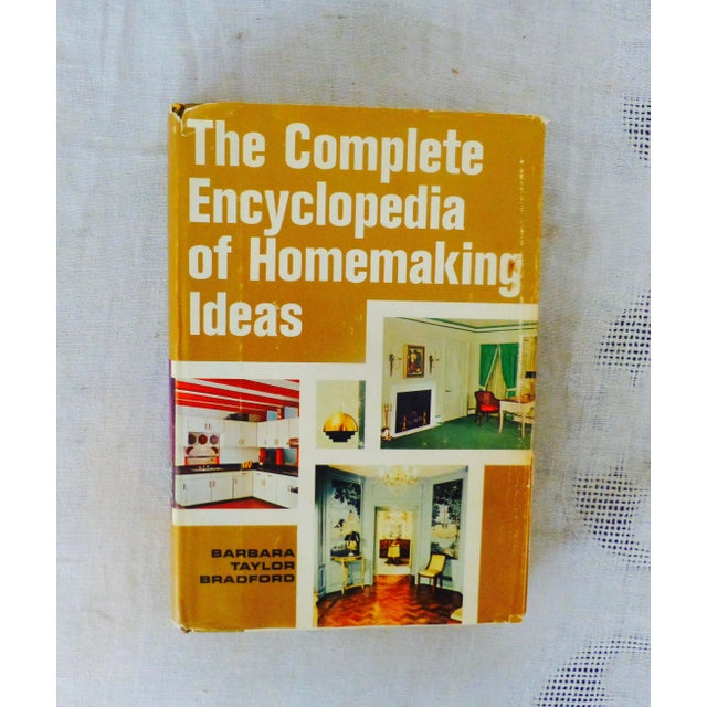 "Barbara Taylor Bradford ""Complete Encyclopedia of Homemaking Ideas"" Book For Sale - Image 11 of 11"