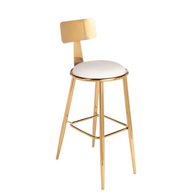 Saint-Germain Bar Chair For Sale - Image 4 of 4