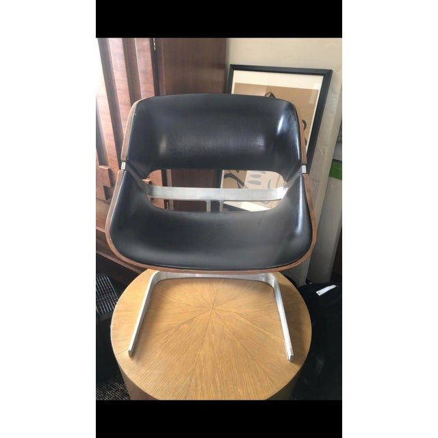 Leatherette 1964 Plycraft Office Chairs - A Pair For Sale - Image 7 of 12
