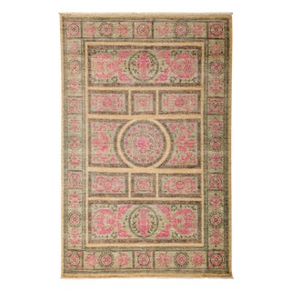"New Traditional Hand-Knotted Rug - 5'2"" X 7'7"""