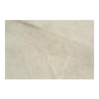 Genuine Brazilian Cowhide, White