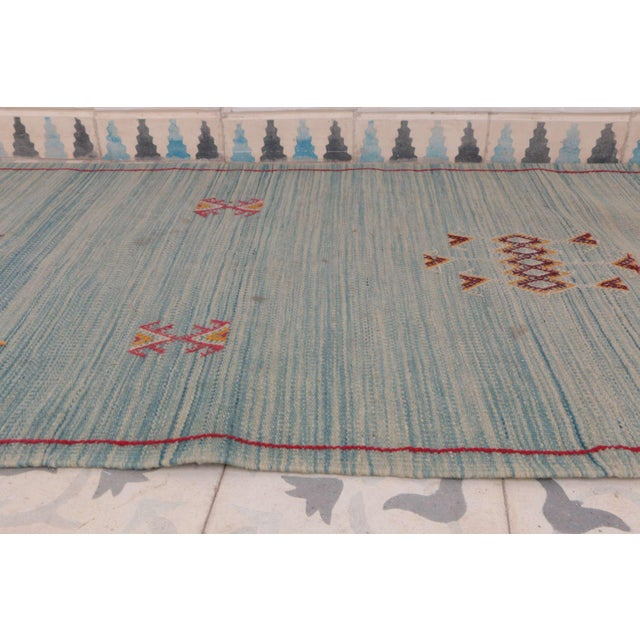 "Aknif Moroccan Runner Rug - 2'1"" x 16'1"" - Image 2 of 3"
