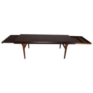 Scandinavian Midcentury Extending Table by Johannes Andersen, 1960s For Sale