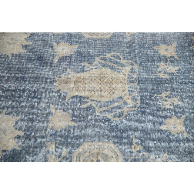 """Old New House Vintage Distressed Fragment Sparta Carpet - 5'7"""" X 9'1"""" For Sale - Image 4 of 11"""