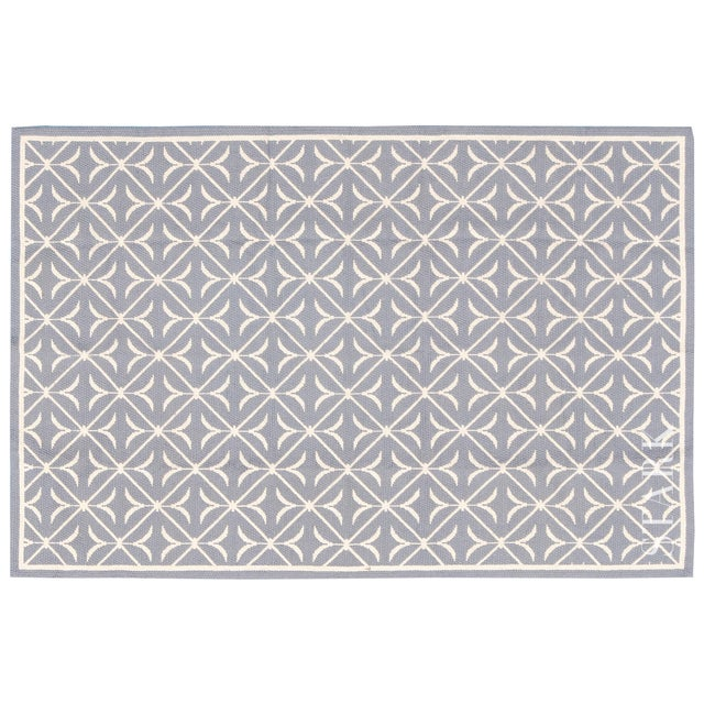 Traditional Stark Studio Rugs Traditional Chinese Needlepoint Keiv Wool Rug - 5′9″ × 9′ For Sale - Image 3 of 3