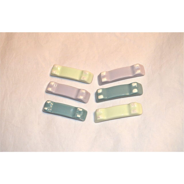 Mid-Century Knife Rests - Set of 6 For Sale - Image 4 of 8