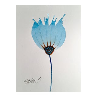 Glass Botanical Original Watercolor Painting