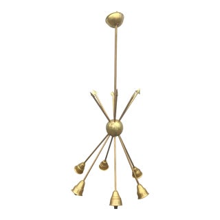 Vintage Criss Crossing Arrow Chandelier For Sale