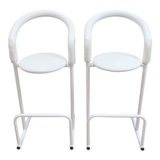 Post Modern Tubular Steel Counter Stools - Creations Gíbo From Amisco For Sale