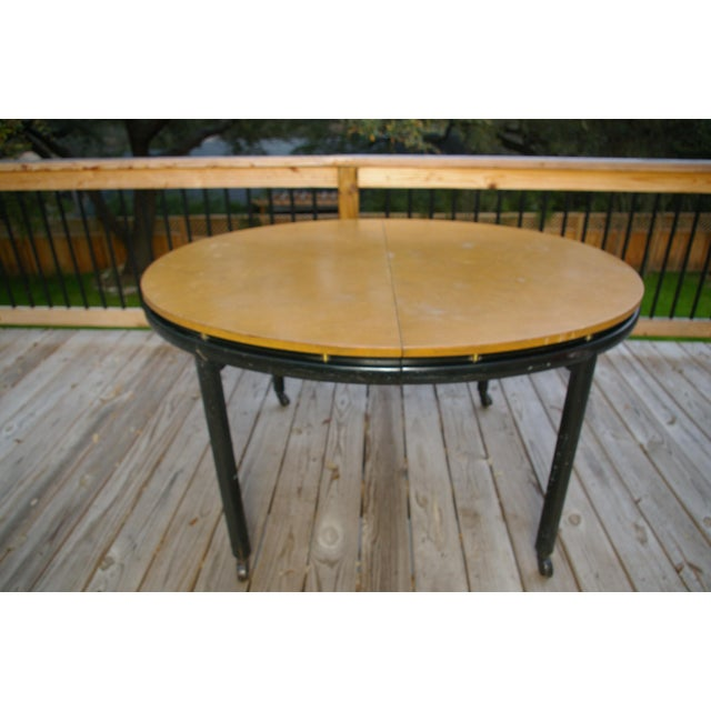 Michael Taylor Baker Furniture New World Group Floating Top Table For Sale - Image 4 of 6
