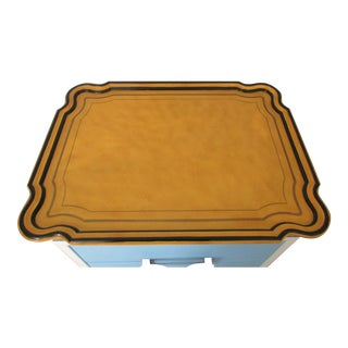 1940s Art Deco Enameled Serving Tray For Sale