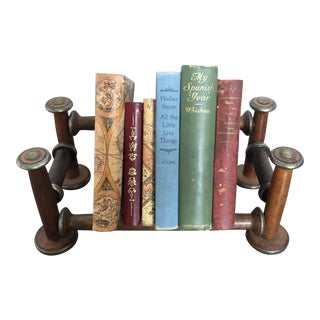 Antique European Wooden Book Stand For Sale