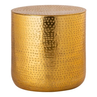 Pasargad Home Corfu Storage Side Table For Sale