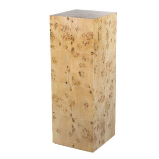 Chloé Burl Pedestal For Sale