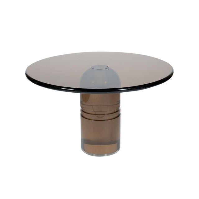 Superior Rare 1970s Charles Hollis Jones Le Dome Dining Table In