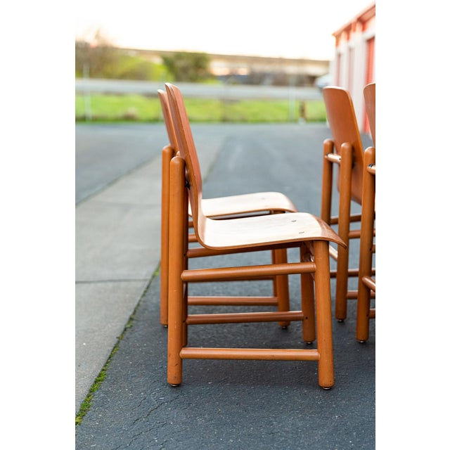 Mid-Century Modern Vintage Modern Moulded Plywood Chairs - Set of 8 For Sale - Image 3 of 11