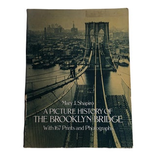 Picture History of the Brooklyn Bridge Book For Sale