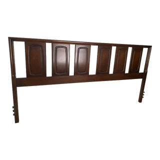 1960s Broyhill Emphasis Mid-Century King Headboard For Sale