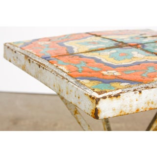 Art Deco Tile-Top Drink Table by Catalina Tile Preview