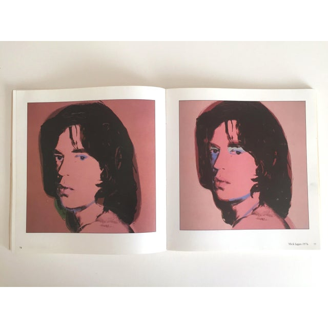 """""""Warhol Portraits of the 70's"""" Vintage 1979 Rare 1st Edition Collector's Art Book For Sale In New York - Image 6 of 11"""