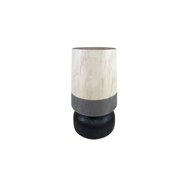 Capirucho Drink Table Tricolor Brushed For Sale