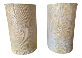 Image of Antique White Vases