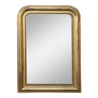 19th Century French Louis Philippe Gilded Mirror For Sale