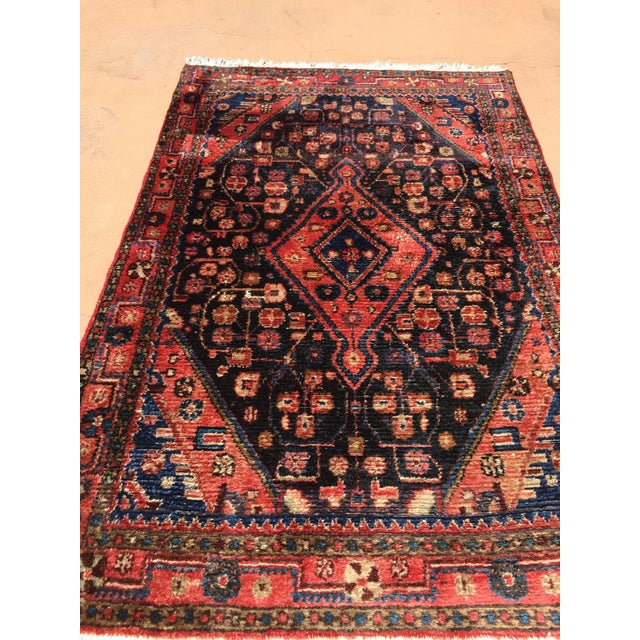 Small Turkish Hand-Knotted Rug For Sale - Image 4 of 8