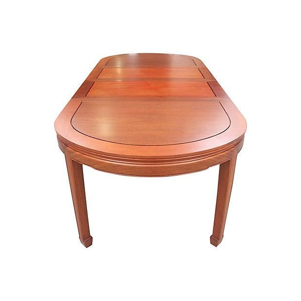 Asian Ming Style Dining Table For Sale - Image 3 of 7